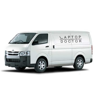 LaptopDoctor's collect, repair and return Mac repair service.