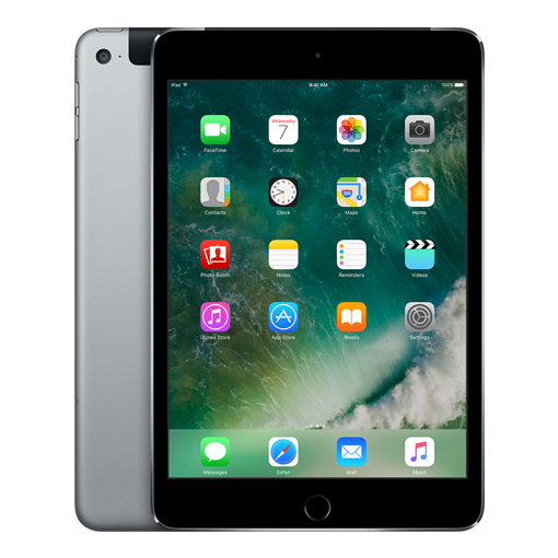 iPad Mini 4 128 GB Cellular, Space Grey