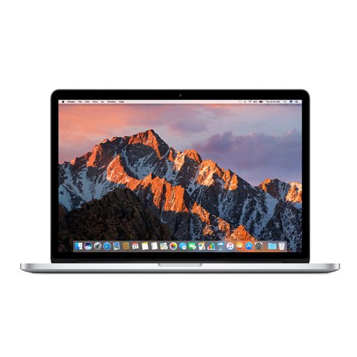 MacBook Pro 15-inch 256 GB, Touch ID, Silver